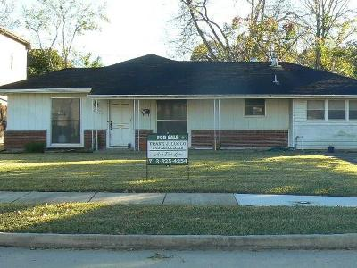 Bellaire Single Family Home For Sale: 4907 Holt Street