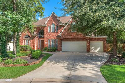 The Woodlands Single Family Home For Sale: 19 Empire Forest Place