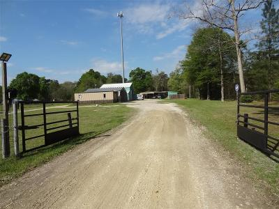 Conroe Farm & Ranch For Sale: 15024 Old Houston Road