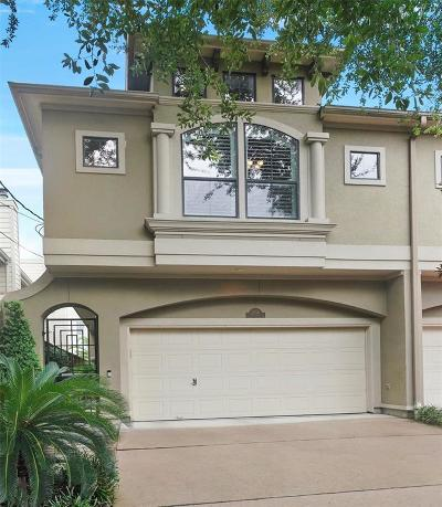 Houston Condo/Townhouse For Sale: 2314 Park Street