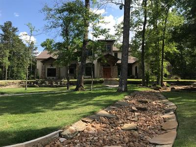 Montgomery Single Family Home For Sale: 7014 Woodlake Trail