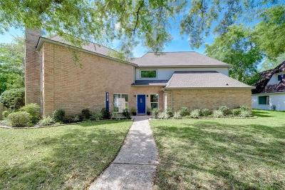 Houston Single Family Home For Sale: 818 Silvergate Drive
