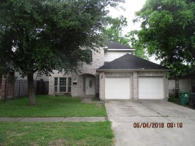 Houston Single Family Home For Sale: 6507 Sidney Street