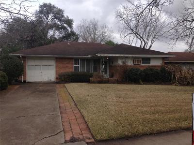 Houston Single Family Home For Sale: 2818 Wuthering Heights Drive