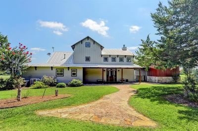 Washington County Country Home/Acreage For Sale: 2685 S Fm 2502