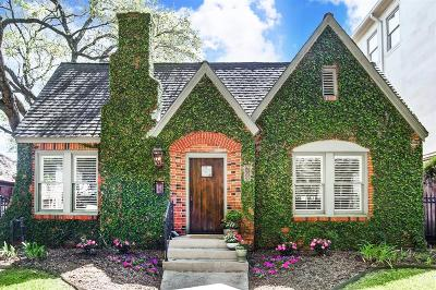 Houston Single Family Home For Sale: 2243 Bartlett Street