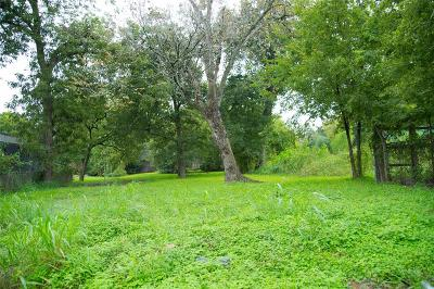 Harris County Residential Lots & Land For Sale: 2713 Tierwester Street