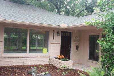 Meyerland Single Family Home For Sale: 5219 Jason Street