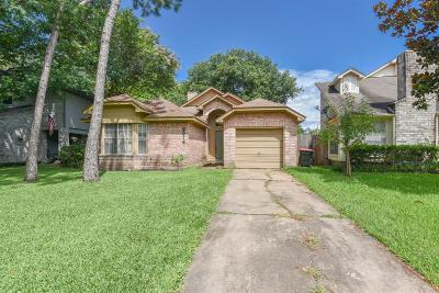 Houston Single Family Home For Sale: 8514 Elm Lake Drive