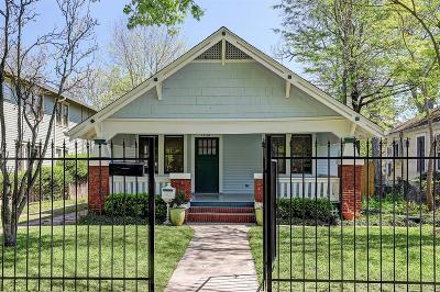 Harris County Single Family Home For Sale: 1840 Harvard Street