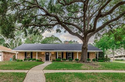 Houston Single Family Home For Sale: 1010 Thornton Road