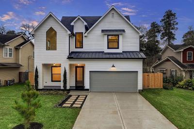 Garden Oaks Single Family Home For Sale: 1047 Lamonte Lane
