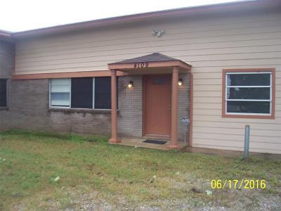 Rosenberg Single Family Home For Sale: 4109 Avenue N