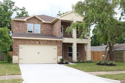 Houston Single Family Home For Sale: 16419 Moary Firth Drive