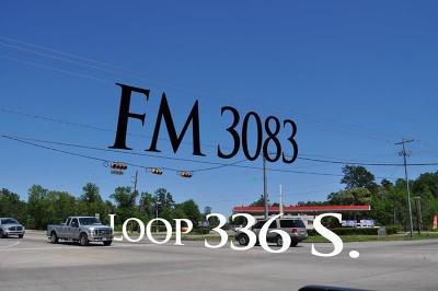 Conroe Farm & Ranch For Sale: 7.5 S Loop 336 E