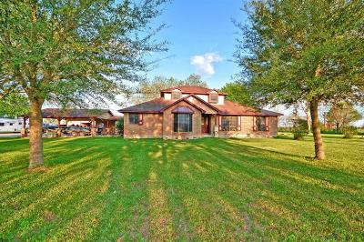 Hockley Single Family Home For Sale: 16450 Warren Ranch Road