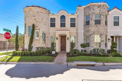 Houston Condo/Townhouse For Sale: 13403 Preston Cliff Court
