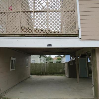 Galveston Rental For Rent: 5116 Ave R Rear Up #2