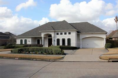 Sugar Land Single Family Home For Sale: 7603 Hunters Point Drive