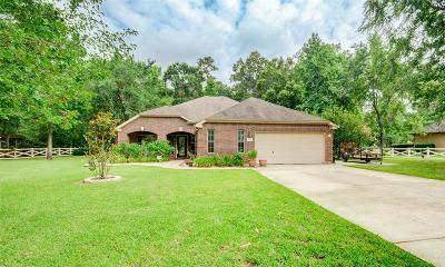 Huffman Single Family Home For Sale: 27125 Fairway Crossings Drive