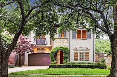 West University, West University Place Single Family Home For Sale: 6328 Westchester