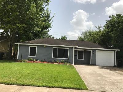 Houston TX Single Family Home For Sale: $153,000