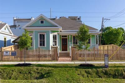 Houston Single Family Home For Sale: 1602 Shearn Street