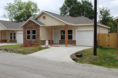 Single Family Home For Sale: 3106 Lelia Street