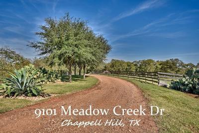Washington County Farm & Ranch For Sale: 9101 Meadow Creek Lane