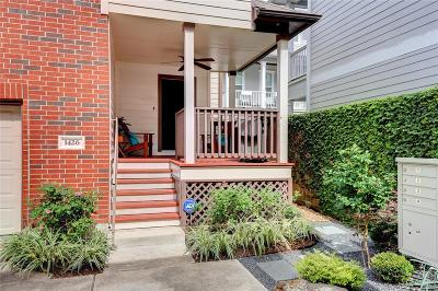 Houston Condo/Townhouse For Sale: 1426 W 24th Street
