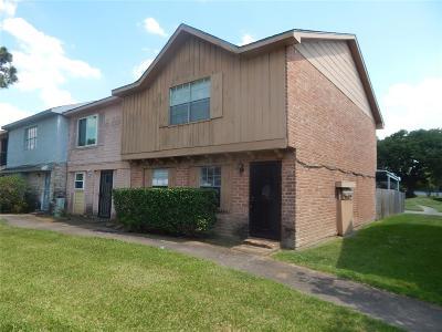 Houston TX Condo/Townhouse For Sale: $89,000
