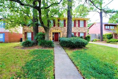 Houston Single Family Home For Sale: 8707 Storm Wood Street