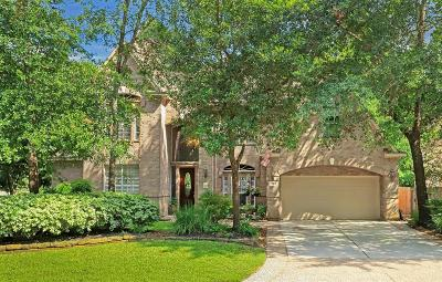 The Woodlands TX Single Family Home For Sale: $640,000