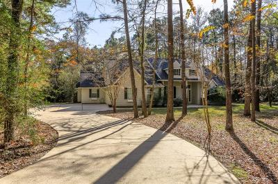 Conroe Single Family Home For Sale: 11073 Lake Forest Drive