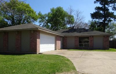 Humble Single Family Home For Sale: 19910 Rustlewood Drive