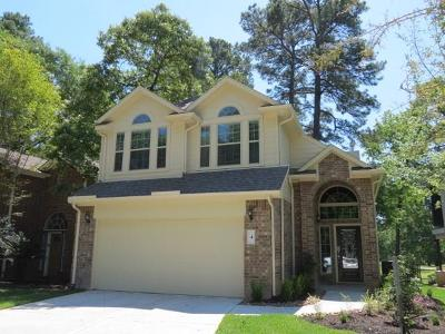 Montgomery Single Family Home For Sale: 4 Presidio