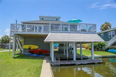 Galveston Single Family Home For Sale: 16615 Pelican Road