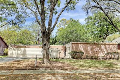 Houston Single Family Home For Sale: 5218 Birdwood Road