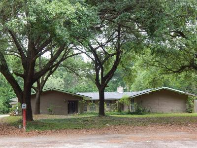 Conroe Single Family Home For Sale: 809 Brook Hollow Drive