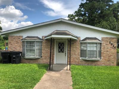 Houston Single Family Home For Sale: 1314 Homer Street