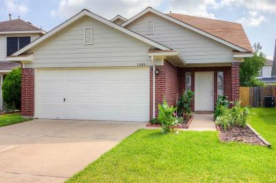 Cypress Single Family Home For Sale: 7350 Village Lake Drive