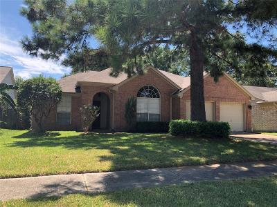 Houston Single Family Home For Sale: 16723 Rockbend