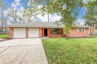 Dickinson Single Family Home For Sale: 3837 Wagon Road