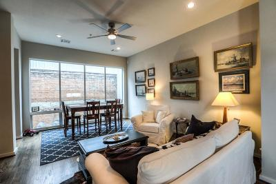 Houston Condo/Townhouse For Sale: 1601 W Webster Street #17