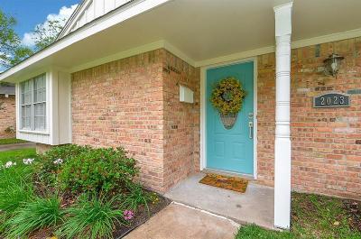Houston Single Family Home For Sale: 2023 Stebbins Drive