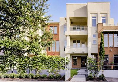 Houston Condo/Townhouse For Sale: 5429 Hidalgo Street #C
