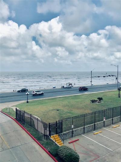 Galveston Condo/Townhouse For Sale: 6300 Seawall Blvd Boulevard #6301