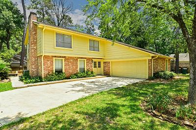 The Woodlands Single Family Home For Sale: 2004 E Lacey Oak Circle