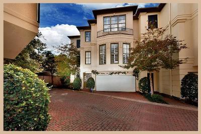 Houston Condo/Townhouse For Sale: 1327 Hyde Park Boulevard