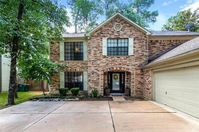 The Woodlands Single Family Home For Sale: 104 Eagle Rock Circle